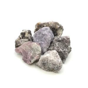 Lepidolith Wassersteine für Edelsteinwasser